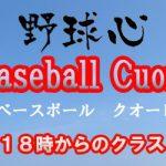 野球心ベースボールクオーレ 18時から20時50分のクラス